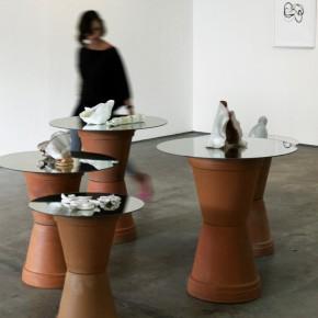 Serie Siliceous (2011) Gres y esmaltes. Vista de la instalación