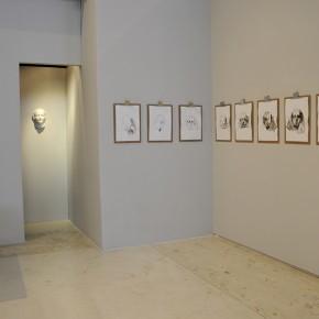 De la desconocida del Sena y otras Ofelias (2012-2013) | Instalación de objetos diversos, monotipos, video, y escultura | Dimensiones variables | 1er Premio en la XII Edición del Premio Mendoza 2013