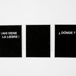 Luis Romero | Canódromo | 2013 | Inyección de tinta sobre papel bond | 3 piezas. 27 x 19 cm c/u