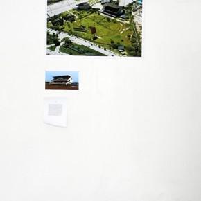 Suwon Lee | Sin título | 2013 | 3 piezas | 62 x 90 cm / 19 x 32cm / texto