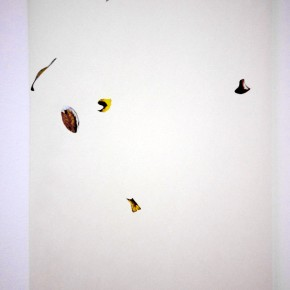 N-S | 2013 | 220 x 47 cm | Técnica mixta