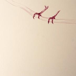 En ningún lugar | 2013 | 21,5 x 28 cm | Dibujo sobre papel