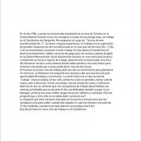Suwon Lee | Sin título | 2013 | Inyección de tinta sobre papel bond | Texto