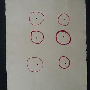 Watupa mamo (Ojo de zamuro) | 2012 | Dibujo en acuarela sobre papel | 45 x 30 cm