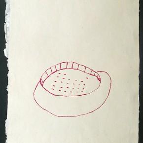 Shapono (Comunidad) | 2012 | Dibujo en acuarela sobre papel | 45 x 30 cm