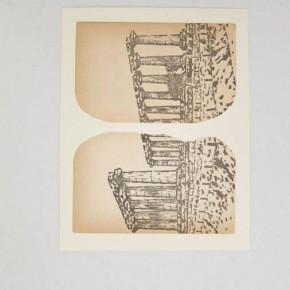 Salvat 1 | 2012 | Guardas de libros sobre cartulina bristol | 24 x 30 cm