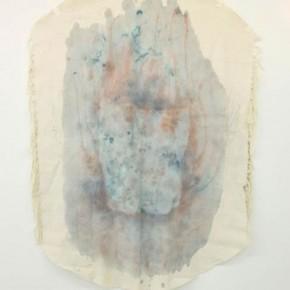 Sin título | 2012 | Lona de algodón y pigmentos histológicos | 127,5 x 90 cm