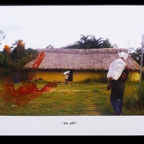 Ipa Yahi (Mi casa) 2012-2013 | Fotografía intervenida con acrílico | Serie de 3 | 48 x 32 cm