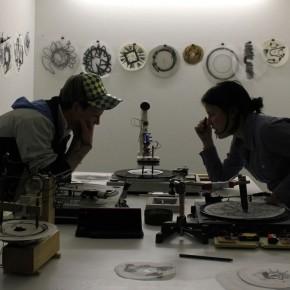 Serie: Máquina para grafitos | 2011-2013 | Instalación y performance