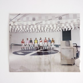 IXI. Jinetes en el Museo Alejandro Otero | 1994 | Cibrachrome. Copia única | 50 x 60 cm