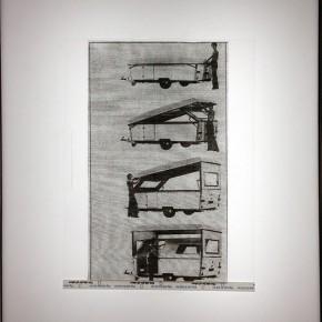 Carlos Anzola | Negatoscopio III | 2013 | Técnica mixta | 47 x 37 x 13 cm