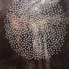 Esmelyn Miranda | Michelena perforado | 2013 | Poster perforado | 77 x 52 cm