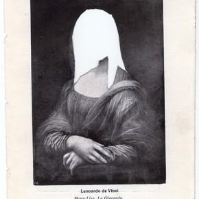 José Miguel del Pozo | Mujeres Celebres I,II y II | 2012-2013 | 16,1 x 11,1 x 3,5 cm c/u | Collages de papel encapsulados en Acrílico