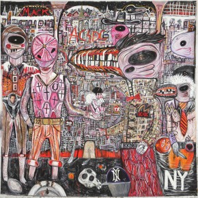 NY | 2005 | Óleo y senok sobre lienzo | 210 x 210 cm / 82.6 x 82.6 pulgadas