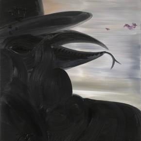 Missing Since 1983 | 2005 | Óleo, senok, ecoline y agua de jungla sobre papel | 130 x 80 cm / 51.1 x 31.4 pulgadas