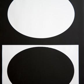 Bóvedas II I 2013 | Monotipo sobre papel | 76 x 58,5 cm