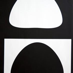 Bóvedas III I 2013 | Monotipo sobre papel | 76 x 58,5 cm