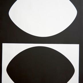 Bóvedas V I 2013 | Monotipo sobre papel | 76 x 58,5 cm