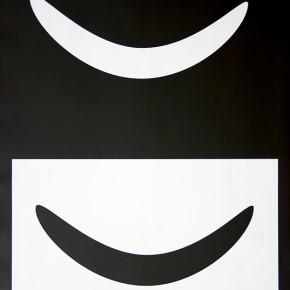 Bóvedas IX I 2013 | Monotipo sobre papel | 76 x 58,5 cm