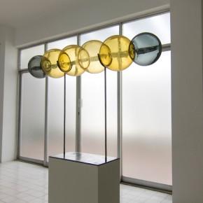 Luis Romero | Expansión | 2013 | Vidrio y hierro | Medidas variables