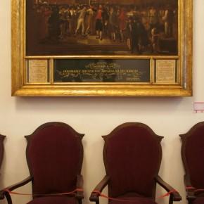 Juan Lovera (1776-1841) | 19 de abril 1810 (1835) | Óleo sobre tela | Capilla Santa Rosa de Lima - Palacio municipal de Caracas, Caracas