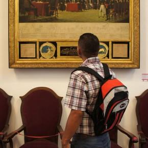 Juan Lovera (1776-1841) | 5 de julio de 1811 (1838) | Óleo sobre tela | Capilla Santa Rosa de Lima - Palacio municipal de Caracas, Caracas