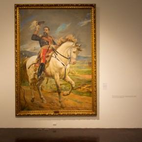 Arturo Michelena (1863 - 1898) | Retrato ecuestre del General Joaquín Crespo (1897) | Óleo sobre tela | Galería de Arte Nacional, Caracas