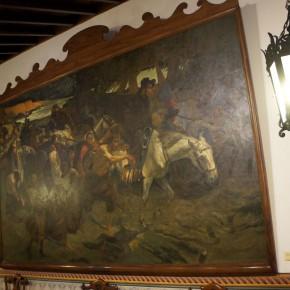 Tito Salas (1887 - 1974) | Emigración a oriente (1913) | Óleo sobre tela | Museo Casa natal del Libertador, Caracas