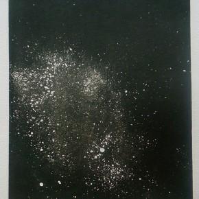 Cosmico I | 2013 | Monotipo | 41 x 30 cm