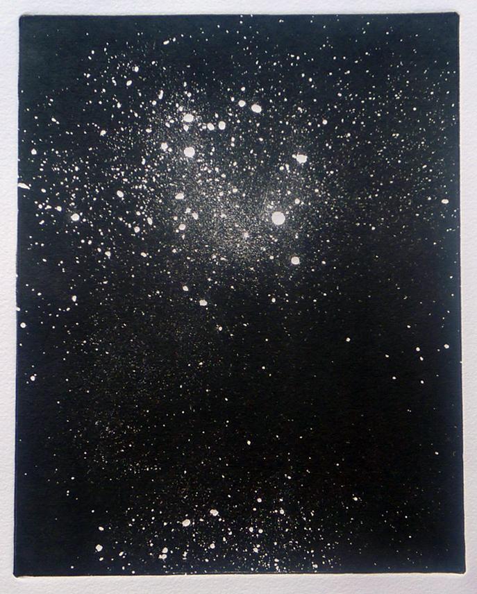 Cosmico IV | 2013 | Monotipo | 41 x 30 cm