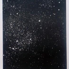 Cosmico V | 2013 | Monotipo | 41 x 30 cm