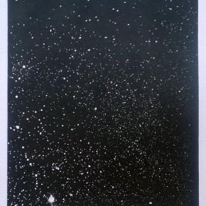 Cosmico VI | 2013 | Monotipo | 41 x 30 cm