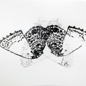 9. Lepidopteros. Nabokovia I | 2013 | Tintas de pigmento y agua sobre papel | 37 x 55 cm