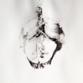 De la Desconocida del Sena y otras Ofelias - II | 2013 | Monotipo sobre papel | 42 x 30 cm