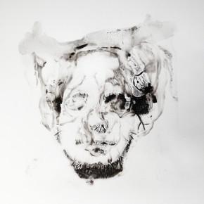 De la Desconocida del Sena y otras Ofelias - III | 2013 | Monotipo sobre papel | 42 x 30 cm