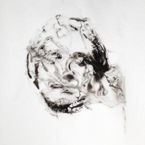 De la Desconocida del Sena y otras Ofelias - IV | 2013 | Monotipo sobre papel | 42 x 30 cm