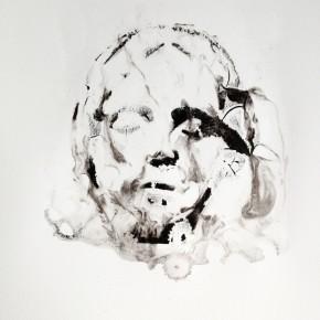 De la Desconocida del Sena y otras Ofelias - V | 2013 | Monotipo sobre papel | 42 x 30 cm