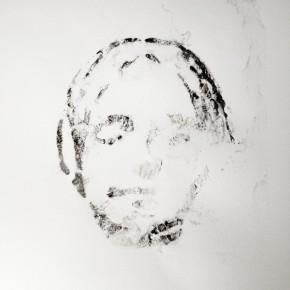 De la Desconocida del Sena y otras Ofelias - VI | 2013 | Monotipo sobre papel | 42 x 30 cm
