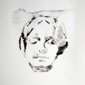 De la Desconocida del Sena y otras Ofelias - VII | 2013 | Monotipo sobre papel | 42 x 30 cm