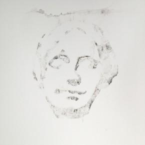 De la Desconocida del Sena y otras Ofelias - VIII | 2013 | Monotipo sobre papel | 42 x 30 cm
