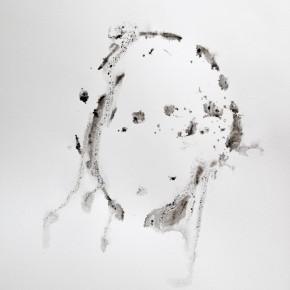 De la Desconocida del Sena y otras Ofelias - IX | 2013 | Monotipo sobre papel | 42 x 30 cm