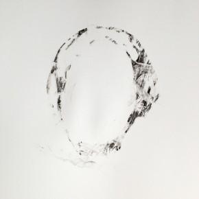 De la Desconocida del Sena y otras Ofelias - X | 2013 | Monotipo sobre papel | 42 x 30 cm