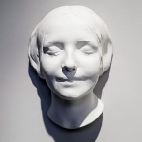 De la Desconocida del Sena y otras Ofelias | 2012-2013 | Plaster mask | 20 x 25 x 10 cm | Edition of 5 + 1AP