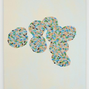 10. DDNMCMYB-SPC #6 | 2013 | Pintura de acrílico y pintura de caucho | 40 x 30 cm