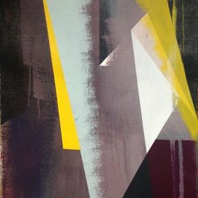 10. El Hilo de Macuto I | 2013 | Acrílico sobre yute | 65 x 46 cm