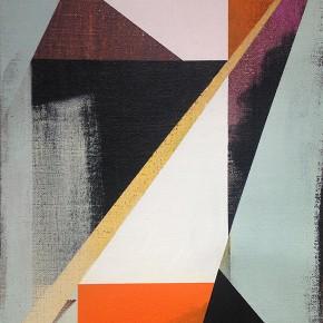 11. El Hilo de Macuto II | 2013 | Acrílico sobre yute | 65 x 46 cm