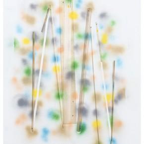 17. Sin titulo con puntos y madera | 2013 | Impresión digital sobre papel de algodón | 70 x 52,5 cm
