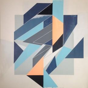 5. Floris Enough | 2013 | Acrílico y gouache sobre tinta serigráfica | 66 x 66 cm papel (74 x 74 cm con marco)