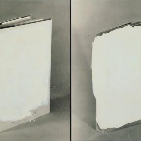 John Baldessari | Dos libros vacíos | 1990 | Cortesía del artista. Colección Ninah y Michael Lynne