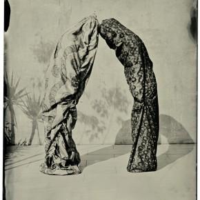 Serie Improntas | 2013 | Fotografía al colodión húmedo sobre aluminio | 13 x 9 cm